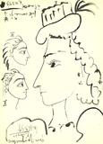 Face of a Man (Detail) Edizioni premium di Pablo Picasso
