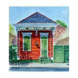 Shotgun House, New Orleans Reproduction procédé giclée par Anthony Butera