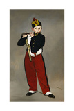 Édouard Manet / The Fife Player, 1866 Giclee Print by Edouard Manet
