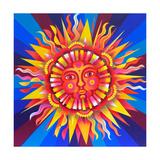 Sun Giclee Print by Jane Tattersfield