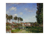 Moret, Bords du Loing, France (1892) RF 2024. Giclee Print by Alfred Sisley