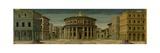 Ideal City, named the City of God. Impressão giclée por Piero Della Francesca