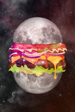 Moon Burger Art