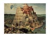 The Tower of Babel, 1563 Giclée-tryk af Pieter Bruegel the Elder