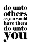 Do Unto Others Poster