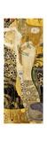Water Serpents I Kunstdruck von Gustav Klimt