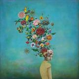 A Mindful Garden Poster von Duy Huynh