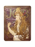 Job Cigarette Rolling Papers Advertisement, 1897 高品質プリント : アルフォンス・ミュシャ