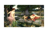 Echo and Narcissus, 1903 Prints by John William Waterhouse