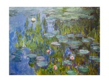Seerosen Giclée-Premiumdruck von Claude Monet