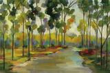 Path in the Forest Kunstdrucke von Silvia Vassileva