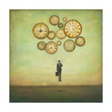 Waiting for Time to Fly Poster von Duy Huynh