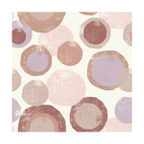Circles Blush Posters par  Wild Apple Portfolio