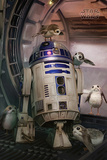 Star Wars- Episode 8- The Last Jedi- R2-D2 & Porgs Photo