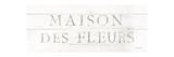 Maison des Fleurs IX Kunstdrucke von Danhui Nai