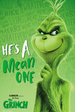 The Grinch - He's A Mean One Poster