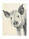 Oink Giclée-Premiumdruck von Albena Hristova