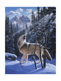 In the Still of the Tetons Giclee Print by R.W. Hedge