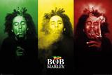 Bob Marley - Tricolour Smoke Bilder