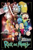 Rick and Morty Kunstdrucke