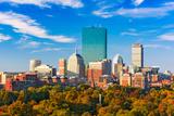Boston, Massachusetts, USA Skyline over Boston Common. Photographic Print by  SeanPavonePhoto