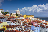 Lisbon, Portugal Skyline at Alfama, the Oldest District of the City. Photographic Print by  SeanPavonePhoto