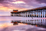 Cocoa Beach, Florida, USA at the Pier. Photographic Print by  SeanPavonePhoto