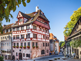 Nuremberg, Germany at the Historic Albrecht Durer House. Photographic Print by  SeanPavonePhoto