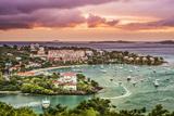 Cruz Bay, St John, United States Virgin Islands. Photographic Print by  SeanPavonePhoto