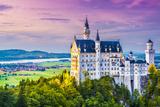 Neuschwanstein Castle in Germany. Photographic Print by  SeanPavonePhoto