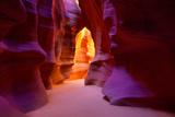 Arizona Antelope Canyon on Navajo Land Near Page USA Lámina fotográfica por  holbox
