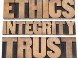 Ethics, Integrity, Trust Word Giclée-Premiumdruck von  PixelsAway