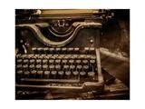 Old Rusty Typewriter Premium Giclee-trykk av NejroN Photo
