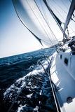 Sailboat in Action, Extreme Sport, Luxury Water Transport, Summer Vacation, Cruise in the Sea, Acti Valokuvavedos tekijänä Anna Omelchenko