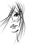 Girl Face Symbols Pôsters por Irina QQQ