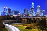 Downtown Charlotte, North Carolina, USA Skyline Photographic Print by  SeanPavonePhoto