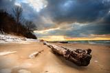 Rocky Gap Beach, Benton Harbor, Michigan Photographic Print by  soupstock