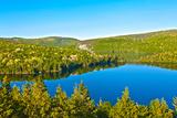Panorama Lake of Sacacomie  in Quebec Canada Fotografisk trykk av  OSTILL