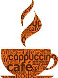 Cup Of Coffee Made From Typography Juliste tekijänä  Marish
