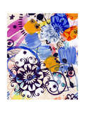 Abstract Background, Color Painted Graffiti Premium Giclee-trykk av Andriy Zholudyev