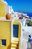 Colors of Greece Series - Santorini, Traditional Cycladic Architecture Photographic Print by  Maugli-l