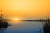 Sunset on the River Photographic Print by  nadiya_sergey