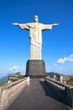 Christ The Redeemer Statue In Rio De Janeiro In Brazil Fotografisk trykk av  OSTILL