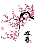 Pflaumenblüte Poster von  yienkeat