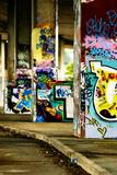 Colorful Selective Focus Graffiti Concept Lámina fotográfica por  sammyc