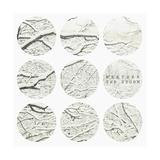 Inspirational Circle Design - Snowy Branches Kunstdrucke von  WizData