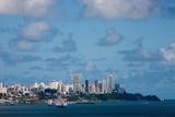 Todos Santos Bay of Salvador of Bahia State Brazil Fotografisk trykk av  OSTILL