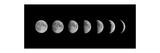 Moon Phases Kunstdrucke von  oriontrail2