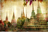 Amazing Bangkok - Artwork In Painting Style Prints by  Maugli-l