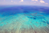 Great Barrier Reef, Cairns Australia, Seen from Above Fotografie-Druck von  dzain